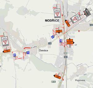 Otázky a odpovědi k plánovaným omezením dopravy