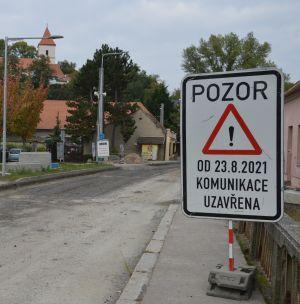 Nové informace k objízdným trasám v obci